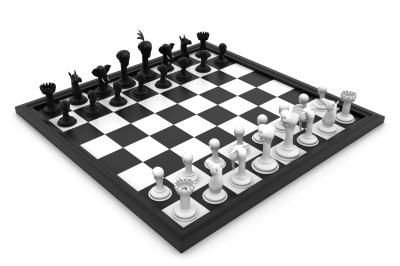 vierkanten schaakbord